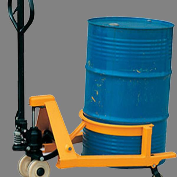 Descripción: Patin hidráulico para tambos Marca New Line Capacidad maxima 365 Kilogramos, super estructura de acero de grueso calibre, dimensión